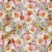 Flores Vintage Verde (50x150cm)