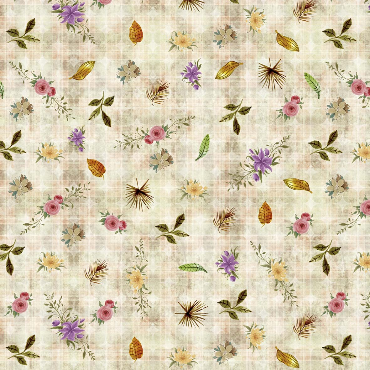 Composê Safari Floral (50x150cm)