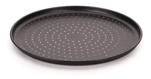 Assadeira De Pizza Perfurada Antiaderente 35 Cm Multiflon
