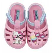2dd864612c Babuche Hello Kitty Summer Sandalia Baby infantil Grendene