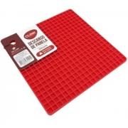 Descanso De Panelas Em Silicone Quadrado Clink 17x17cm