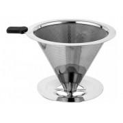 Filtro / Coador Para Cafe Aço  Inox Reutilizável