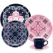 Jogo De Jantar  Hana 20 Peças  Oxford Porcelana
