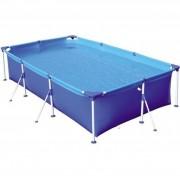 Piscina Infantil Lazer 1000 Litros Retangular - Mor  Azul verao