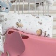 travesseiro Corpo Body Pillow Kids 30x65 Cm C/ Fronha Menina estampada