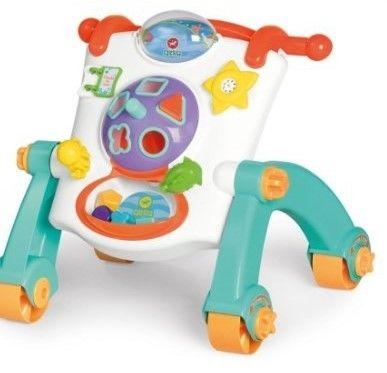 Andador Didático Infantil 3 em 1 Calesita 908 Bebês