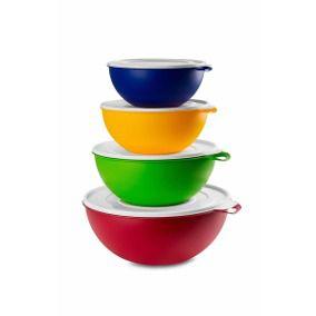 Bacia Colorida 9litros Pote Utility Utilidades Cozinha sortidas