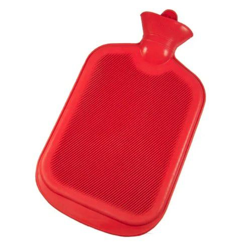 Bolsa Térmica Compressa Água Quente Em Borracha 2 Litros clink