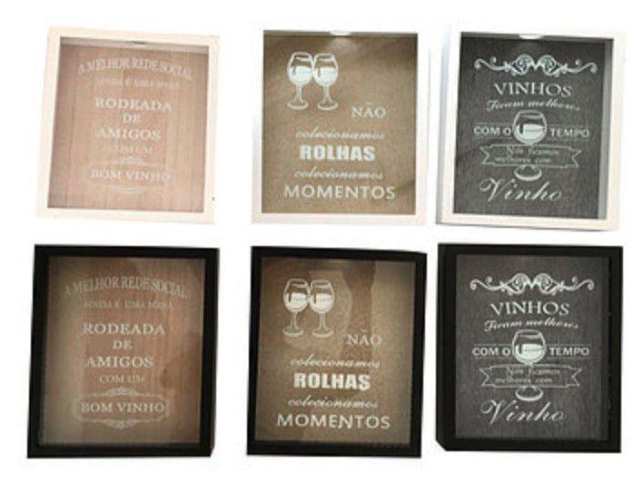 Quadro Porta Rolha Taças De Vinhos Wine Tipos De Uva Hd65923