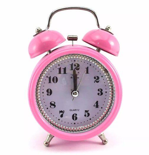 Relógio Decorado Antigo Despertador Mecânico Cor Sortidas