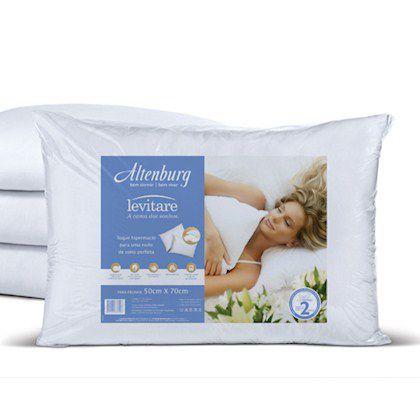 Travesseiro Altenburg Levitare 50x70 Branco Macio