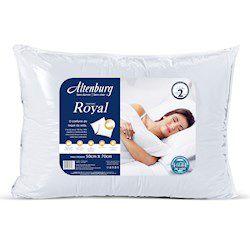 Travesseiro Royal Fibra Siliconizada Altenburg 50 X 70