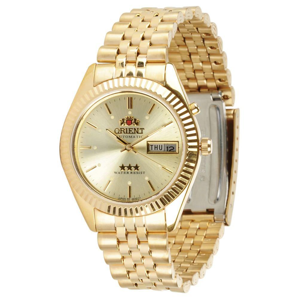 19cf56bd025 Relógio Orient Automatico Dourado 469ec7 C1kx - Janne Semijoias