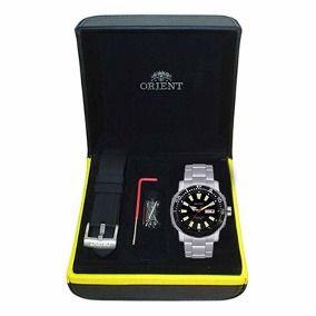 3223358c97d Relógio Orient Automatico Masculino Scuba Diver 469SS040 P1SX