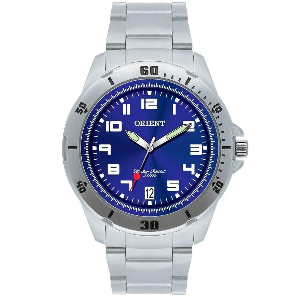 c00722d7dea Relógio Orient Masculino MBSS1155A D2SX Azul