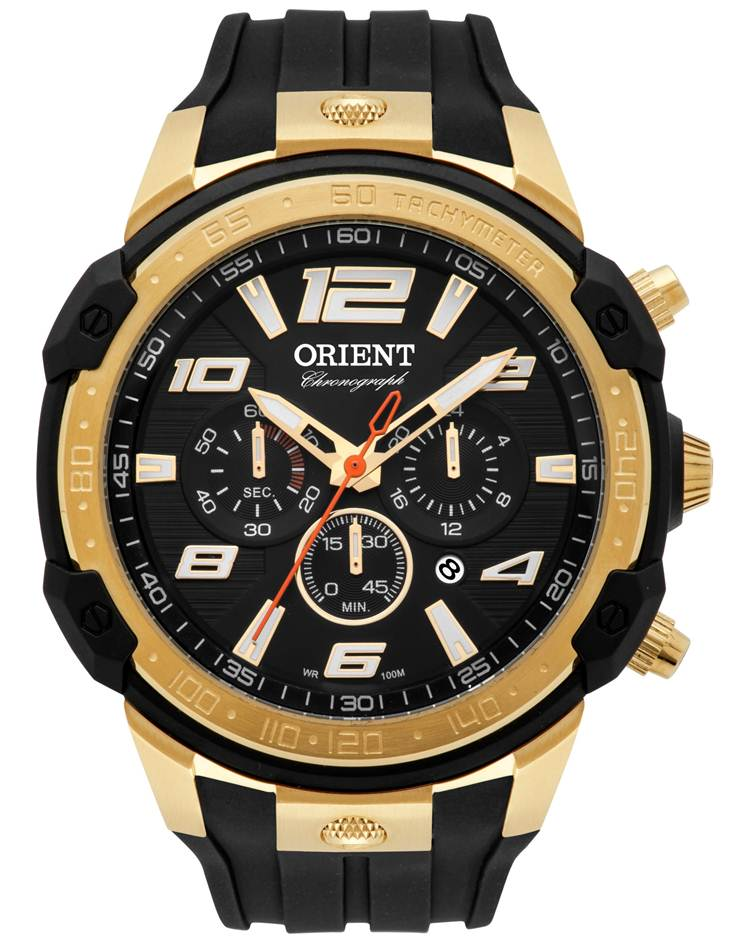 2f42555ec5f Relógio Orient Masculino Dourado MGSPC004A P2PX