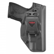 Coldre Cobra EVO Smith & Wesson M&P [M&P9 Shield] [M&P40 Shield]  Saque Rápido Velado -  Kydex®