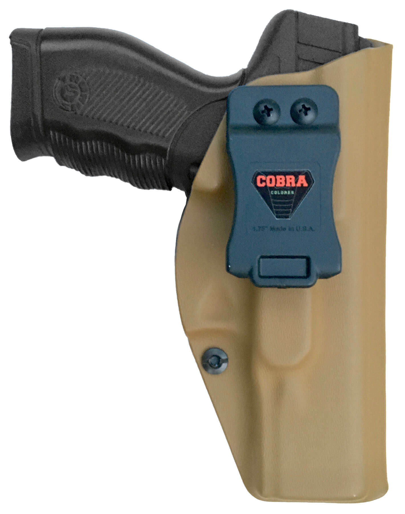 Coldre 24/7 Police / PRO / DS Kydex Slim Saque Rápido Velado ® 080 - Coyote