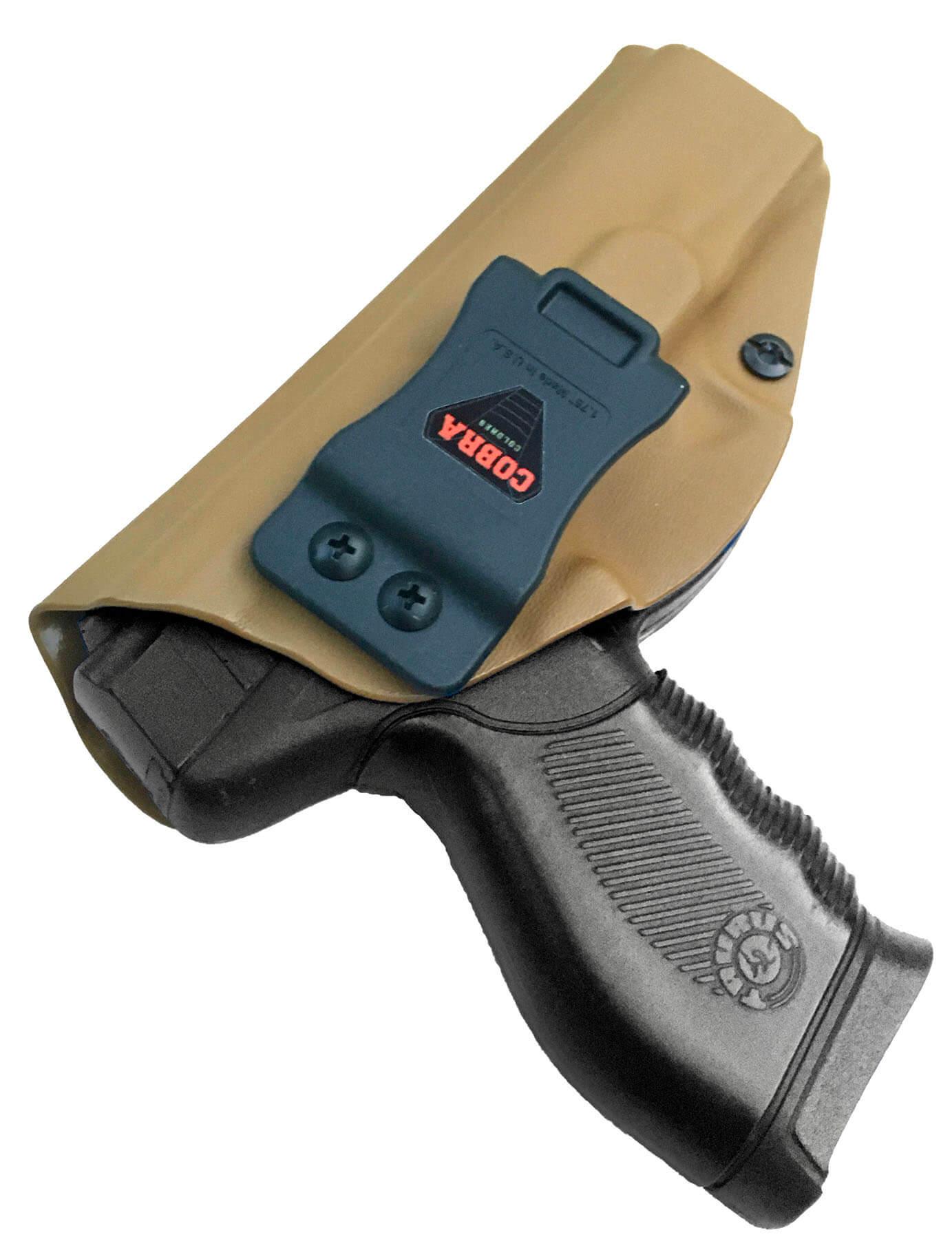 Coldre [24/7] Police / PRO / DS Kydex Slim Saque Rápido Velado ® 080 - Coyote