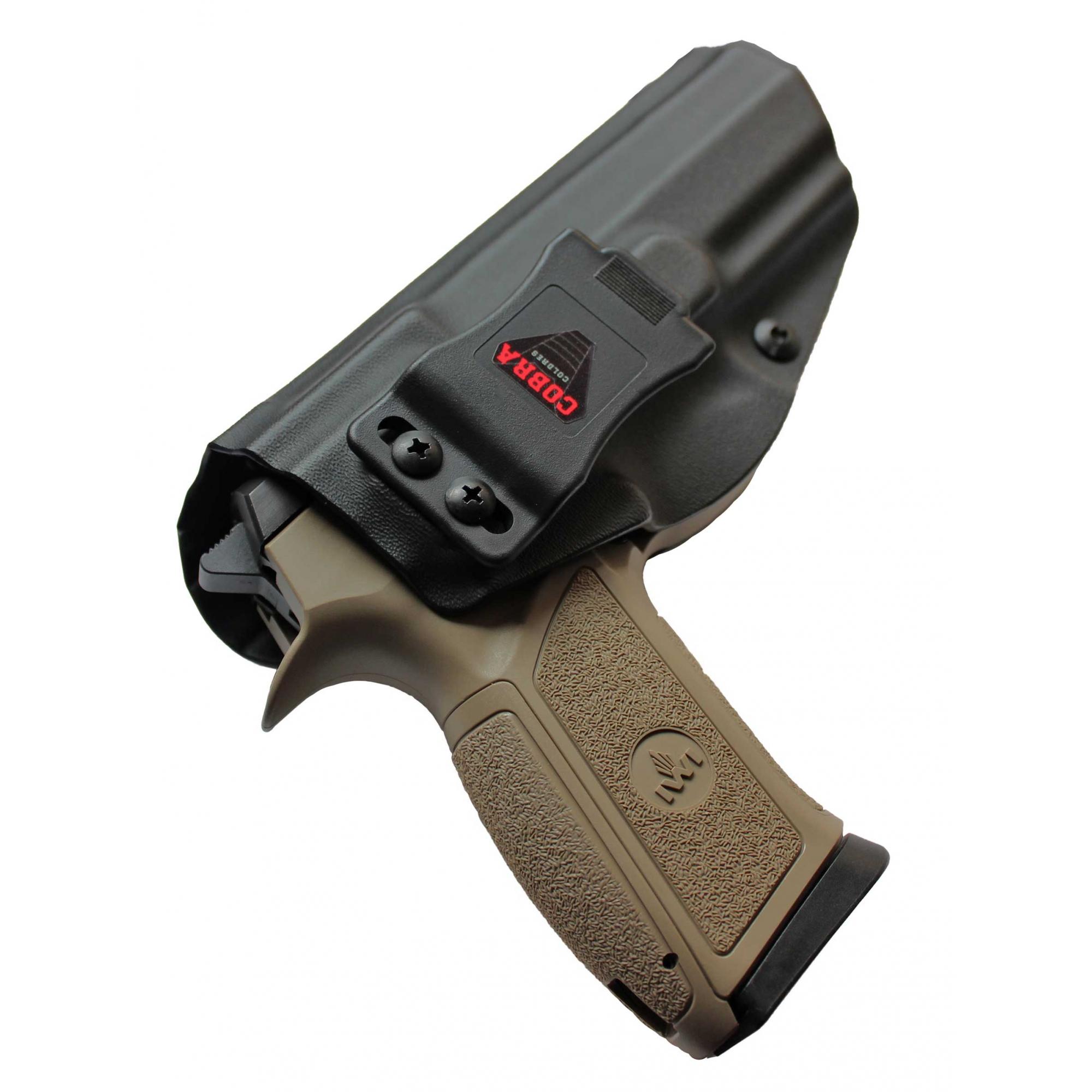 Coldre Cobra IWI [Jericho] [PL 941] - Jerichó Polímero 9mm - Cano 112mm - Saque Rápido Velado -  Kydex® 080