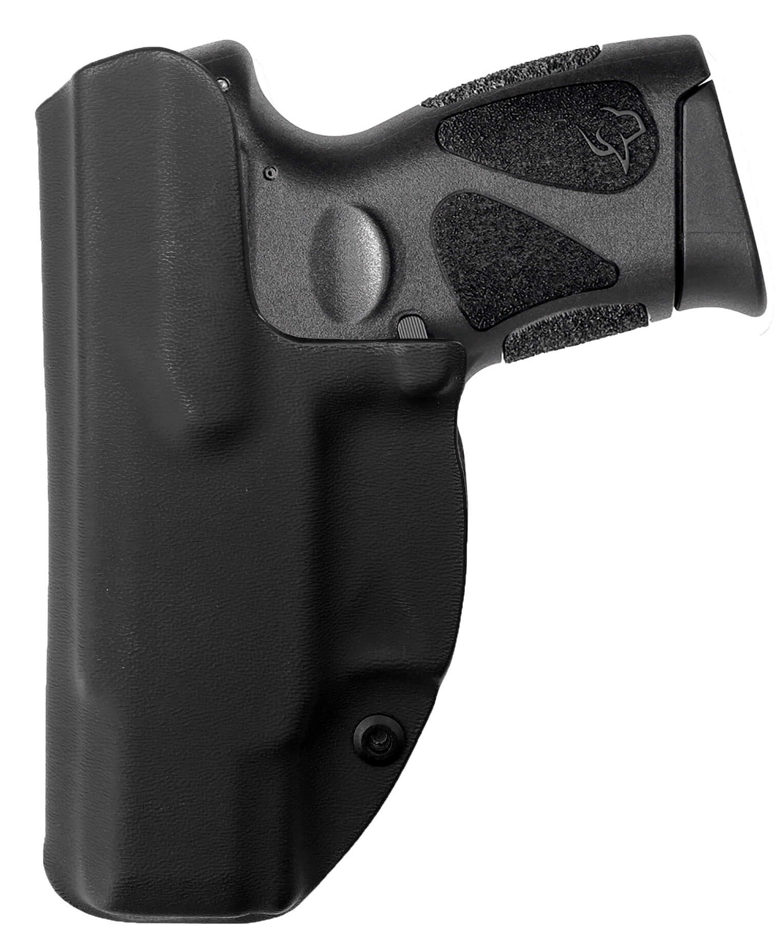 Coldre [G2c] 9mm e .40 - Com Flap Embutido - Velado Kydex® 080