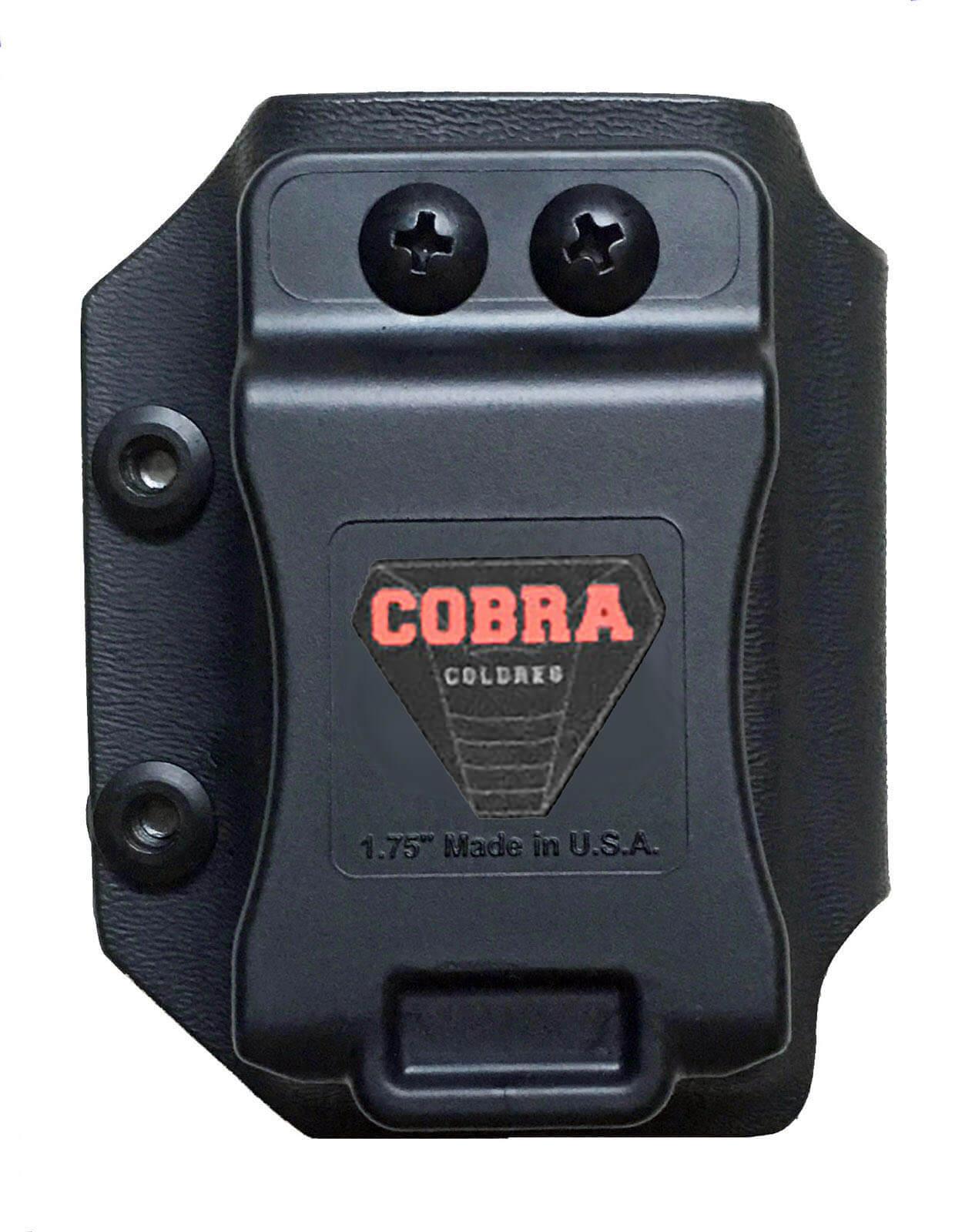 Coldre [G2c 9mm] Kydex Com Flap + 2 Porta-Carregadores Saque Rápido Velado Kydex®