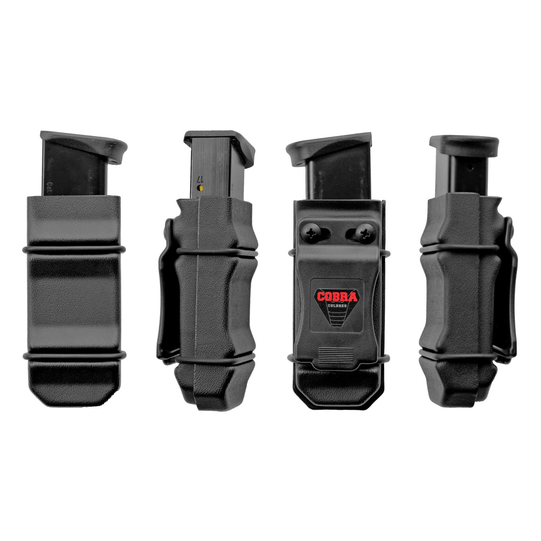 Coldre Glock [G26] [G27] [G28] [G33] Kydex + 1 Porta-Carregador Universal - Saque Rápido Velado Kydex® 080