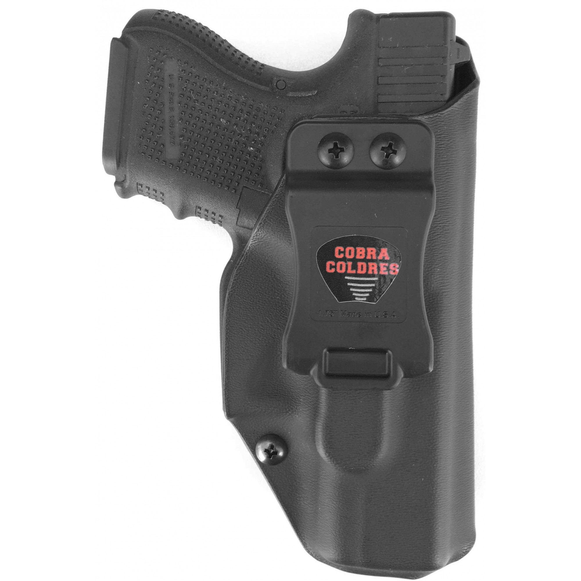 Coldre Glock [G30] [G29] Kydex + 1 Porta-Carregador Universal - Saque Rápido Velado Kydex® 080