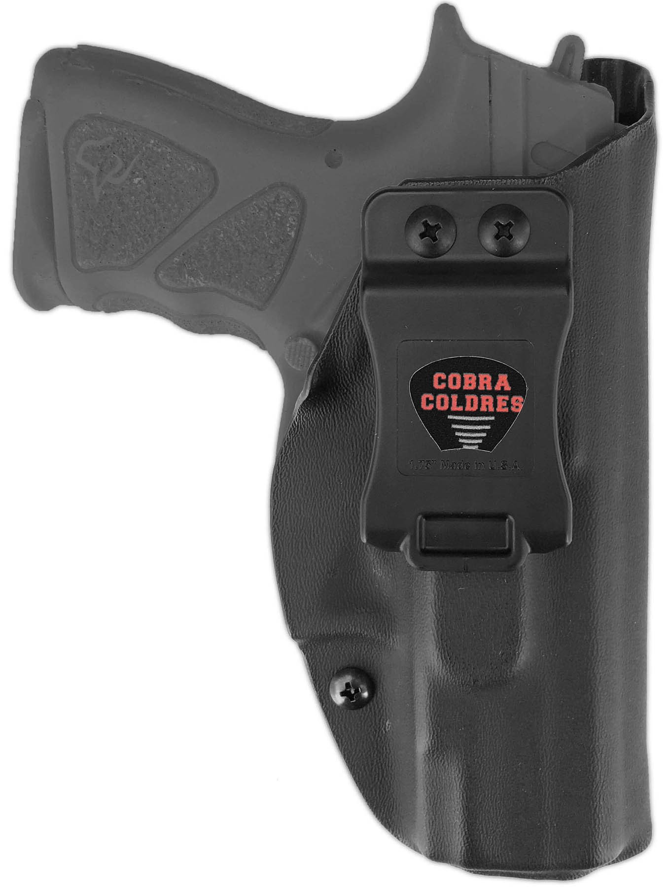Coldre Slim THc TH9c TH40c PT838c PT809c Compacta Taurus Saque Rápido Velado Kydex® 080