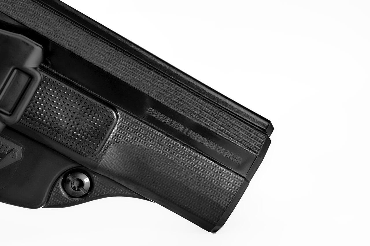 Coldre Velado Taurus PT840 - Polímero P.A.R. - Saque Rápido Cobra