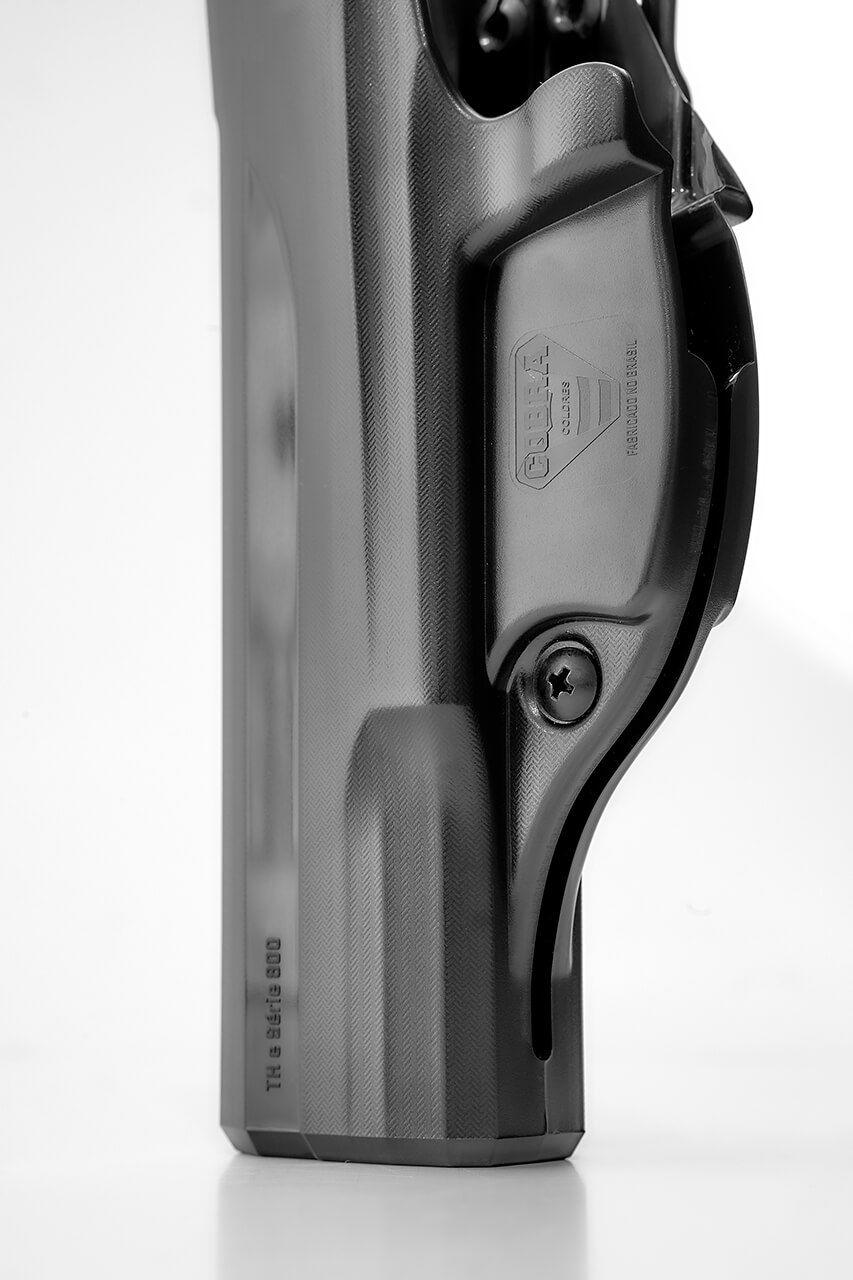 Coldre Velado Taurus TH40 - Polímero P.A.R. - Saque Rápido Cobra