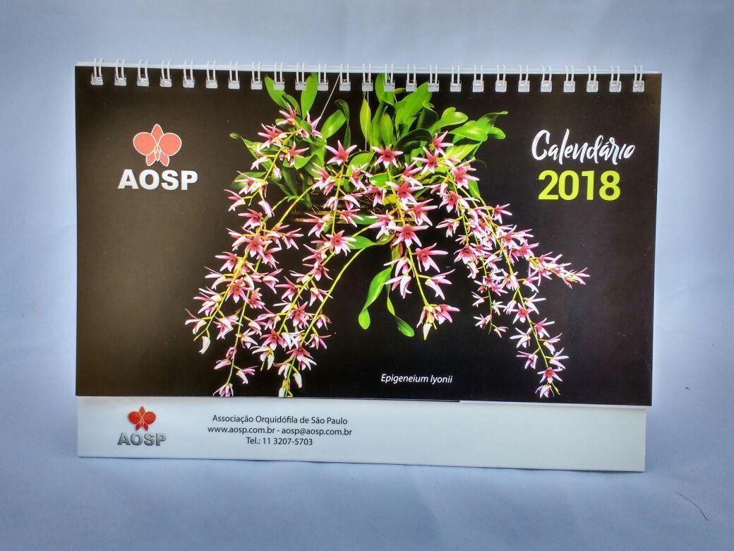 Calendário Anual da AOSP