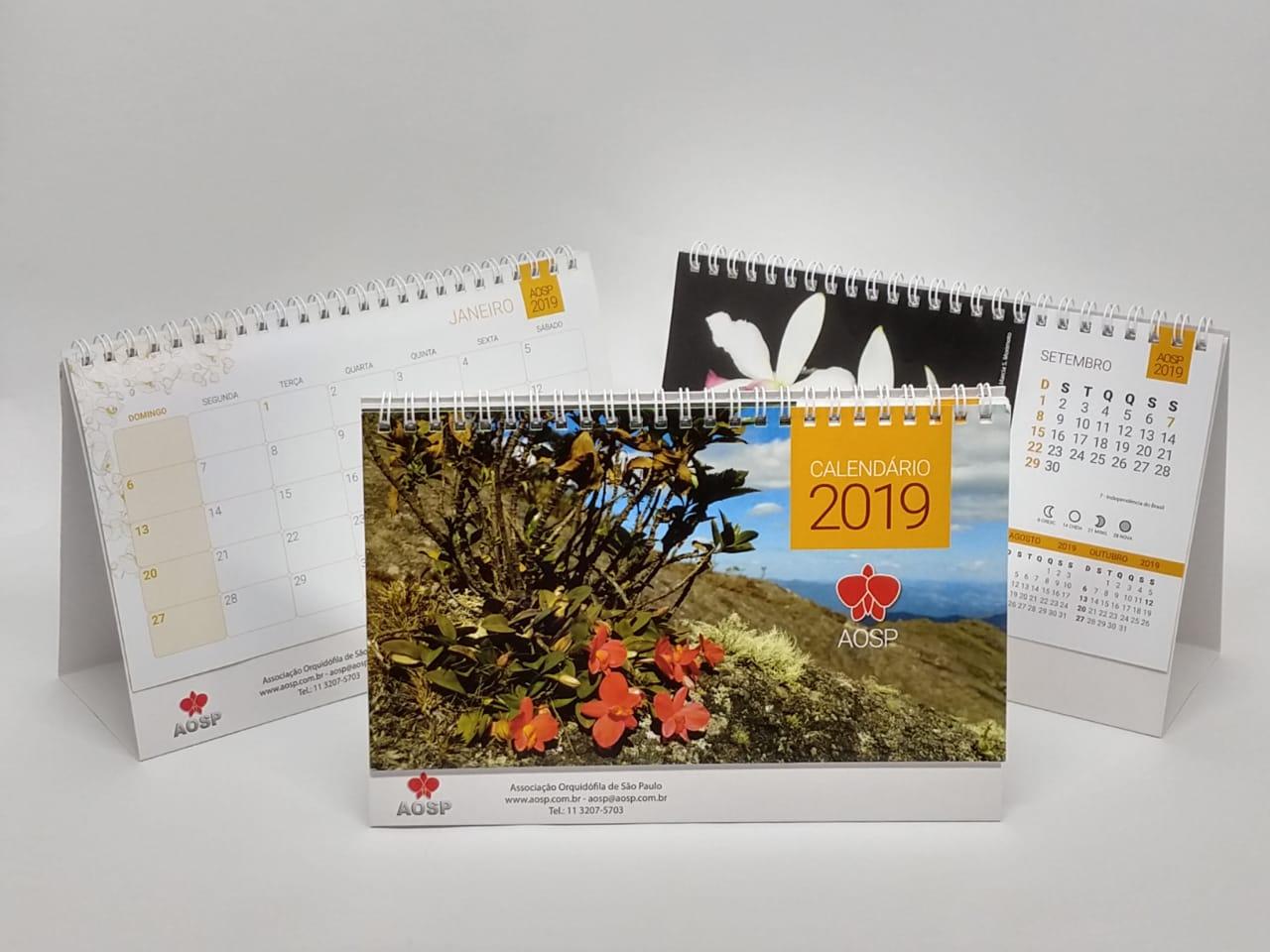 Calendário AOSP - 2019