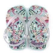 Chinelo Plugt Beach Flamingo Infantil