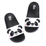 Chinelo Plugt Slide Panda Preto