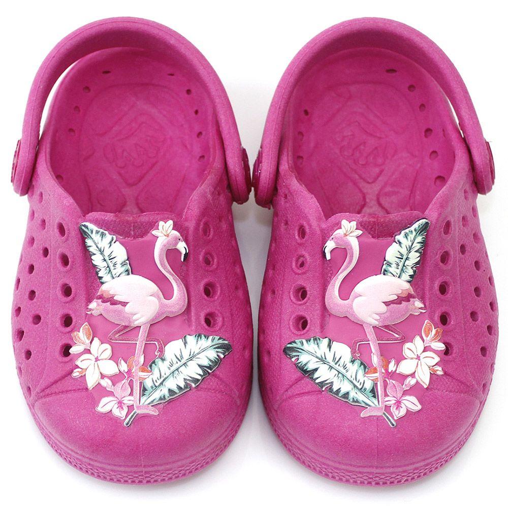 Babuche Plugt Joy Flamingo
