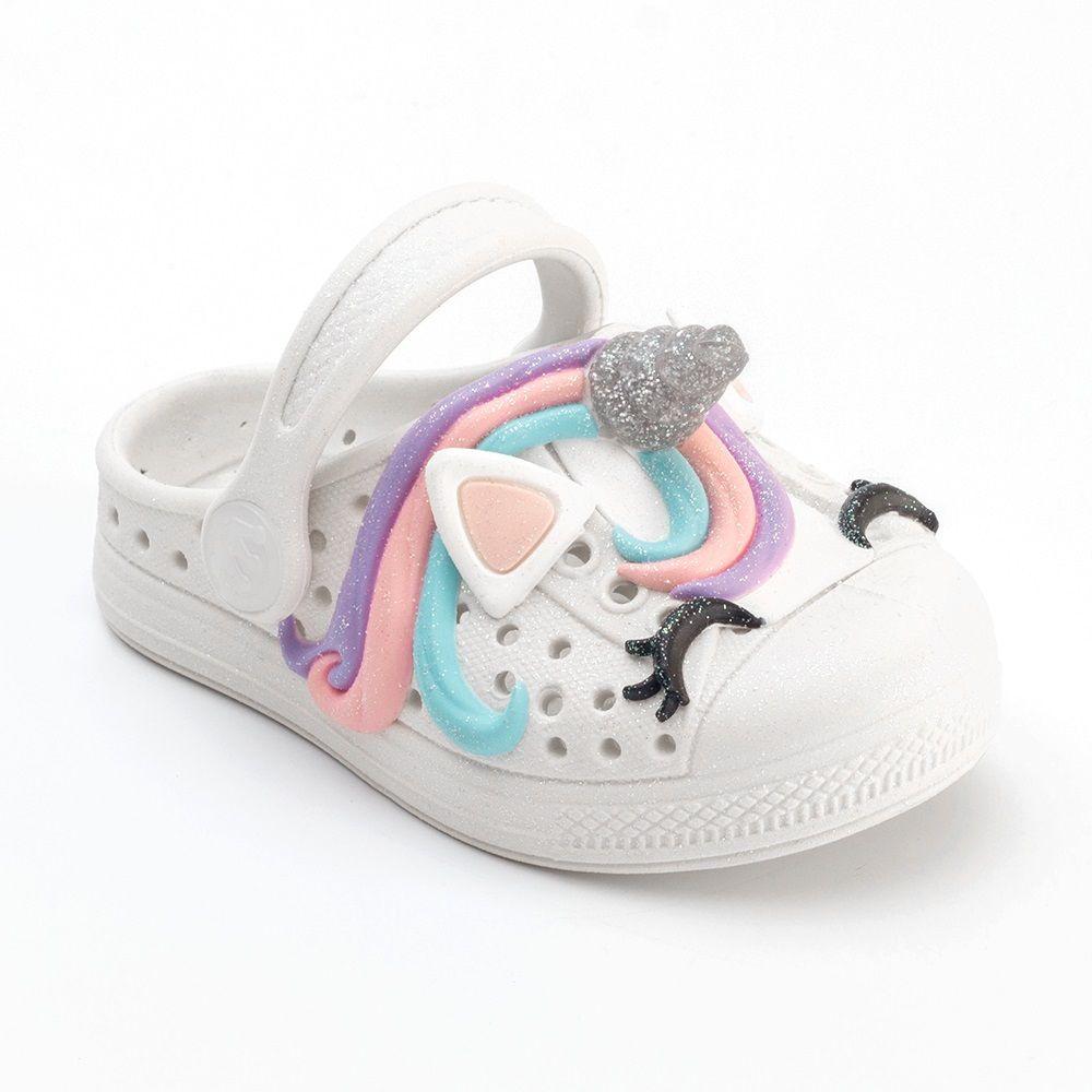 Babuche Plugt Joy Kids Unicórnio 3D Infantil