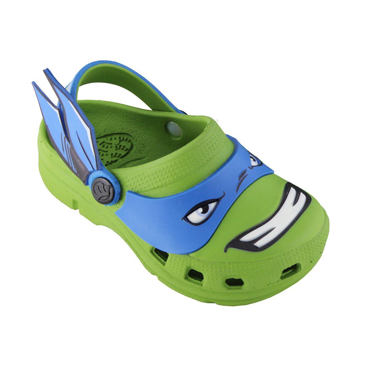 Babuche Plugt Tartarugas Ninja Leonardo Verde