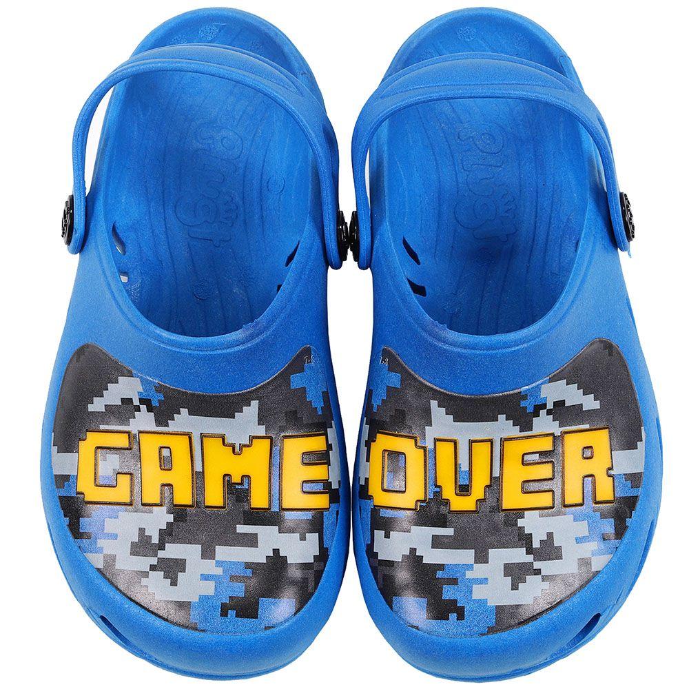 Babuche Plugt Ventor Game Over Azul