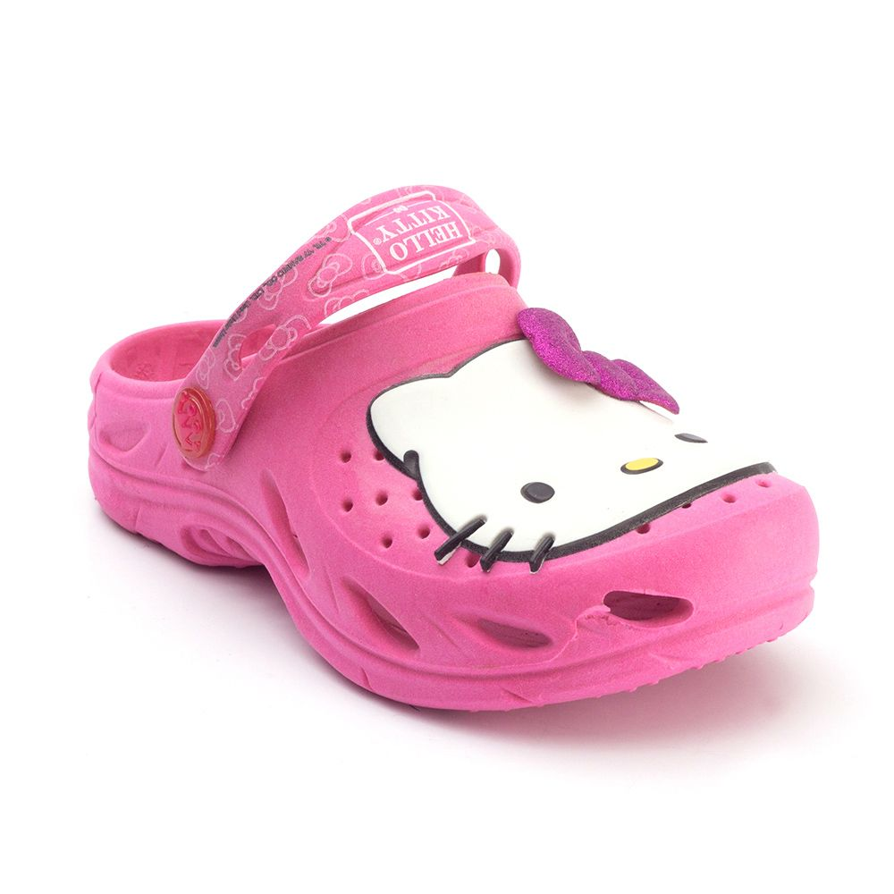 Babuche Plugt Ventor Hello Kitty Infantil Pink