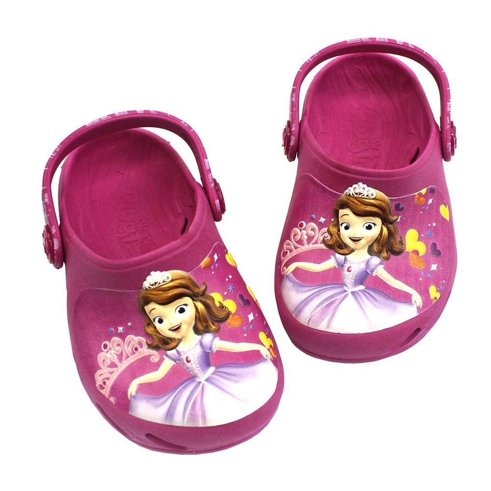 Babuche Plugt Ventor Princesa Sofia Corações Disney