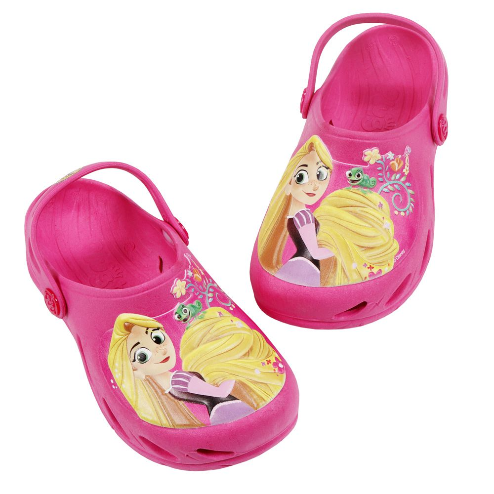 Babuche Plugt Ventor Rapunzel Enrolados Disney Pink