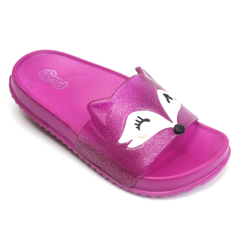 Chinelo Plugt Slide Raposa Pink