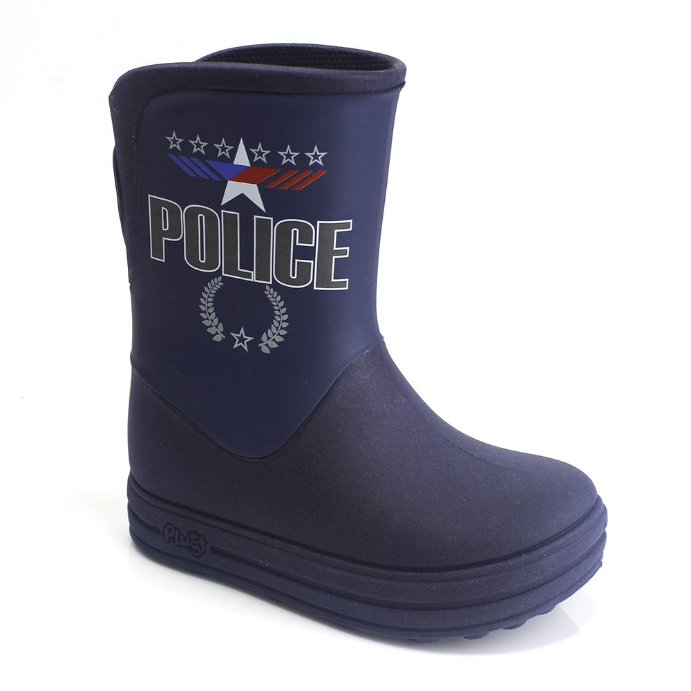 Galocha Plugt Acqua Police Marinho