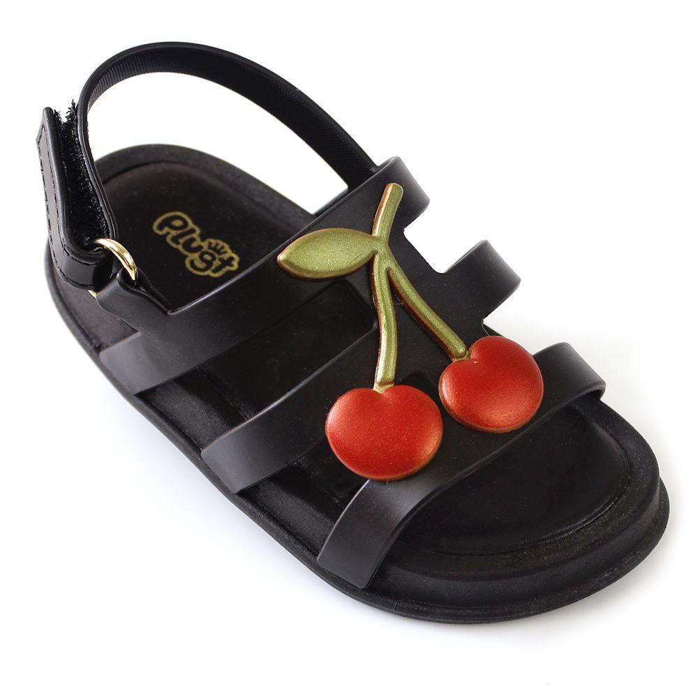 Sandália Plugt Mini Bizz Cereja