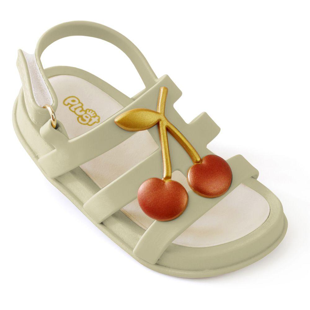 Sandália Plugt Mini Bizz Cereja Infantil