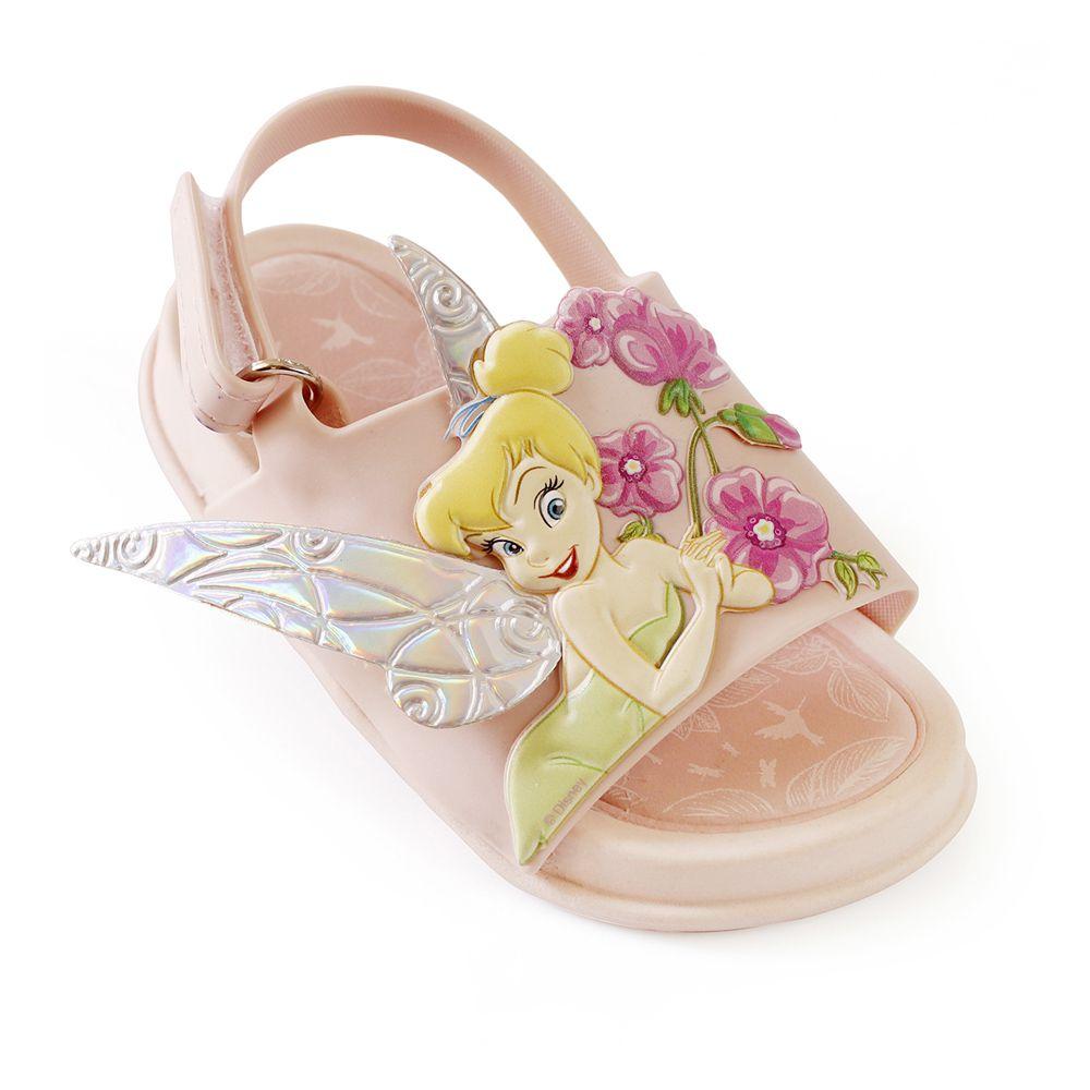 Sandália Plugt Mini Bizz Sininho Fadas Disney Rosa