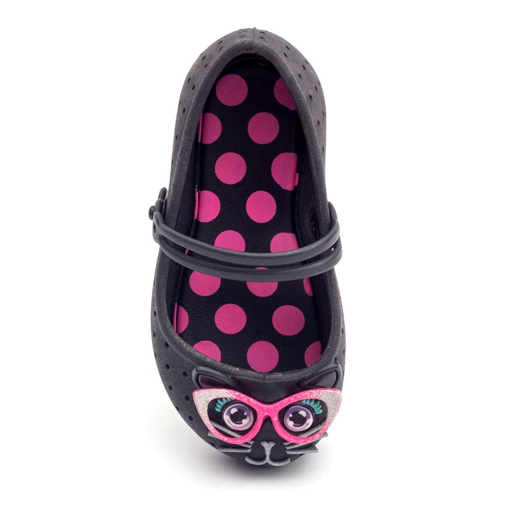 Sapatilha Plugt Nina Gata 3D Infantil