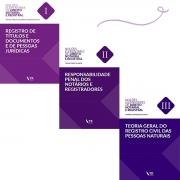 Noções Elementares de Direito Notarial e Registral - Vol. I, II e III