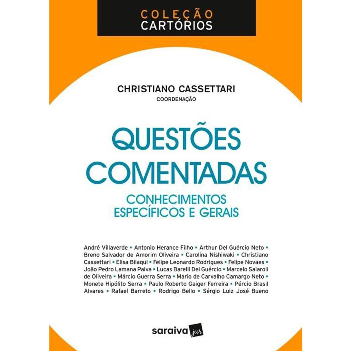 Coleção Cartórios - Questões Comentadas